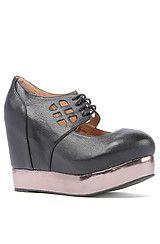 Jeffrey Campbell The Raid Shoe in Black- Karmaloop.com $69.95