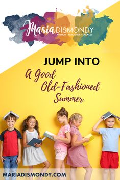Jump Into A Good Old-Fashioned Summer with these oldie-but-goodie summer plans that will keep the kids exploring nature and having fun outdoors all summer long! #outdoorplay #summeractivities #kidsinsummer