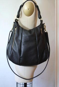 handmade leather bag, etsy!