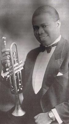 Louis Armstrong (August 4, 1901 – July 6, 1971) nicknamed Satchmo or Pops, was an American jazz trumpeter and singer from New Orleans, Louisiana c. 1920s He was a popular musician. He played mostly jazz music. (The most popular genre of the 1920s.)