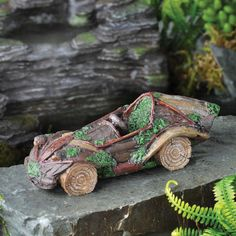 $13.99 Fiddlehead Fairy Garden Miniature Woodland Fairy Car