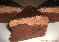 Q - Mňamky-Recepty. Slovak Recipes, No Bake Cake, Sweets, Candy, Cookies, Baking, Eat, Food, Tarts