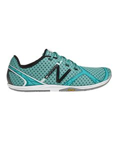 Teal & Black Minimus Zero Running Shoe. Love these. #newbalance on sale today at Zulily.com!