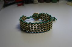 Making bracelets is very relaxing for me.  These are so easy to make and fun to wear