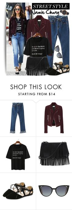 """Street Style"" by oshint ❤ liked on Polyvore featuring Balenciaga, White House Black Market, Fendi and Marc Jacobs"