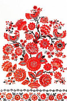 Традиционная Украинская вышивка — Стоковое изображение #13601882