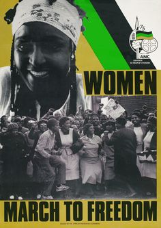 ANC poster from the struggle, 1987.