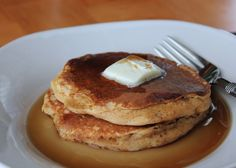 Coconut spiced pancakes