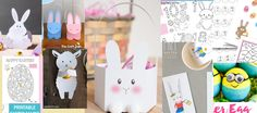 List of easter themed freebies. Bookends, Easter, Printables, Activities, Learning, Kids, Crafts, Home Decor, Young Children