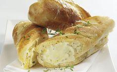 Creamy Garlic Bread with Mozzarella recipe | Spring recipes | Whats For Dinner