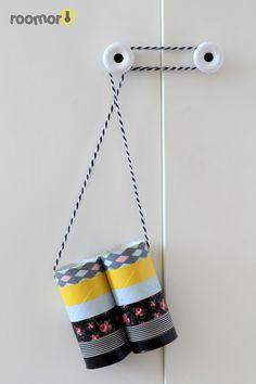 roomor! - paper fieldglasses, washi tape, kid's craft