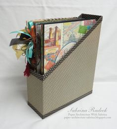 Come Away With Me Travel Folio - In Storage Box by Sabrina Radeck #graphic45