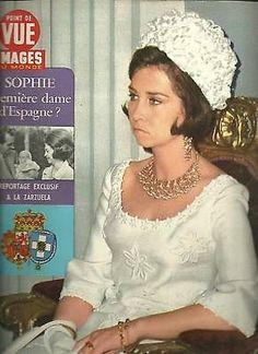 Point de vue N° 1048 Sophie,1ere dame d Espagne 1968 in Livres, BD, revues | eBay