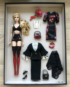 Dania Red Zinger In the style of Dolce & Gabbana Barbie Doll Set, Doll Clothes Barbie, Beautiful Barbie Dolls, Barbie Dress, Fashion Royalty Dolls, Fashion Dolls, Barbie Fashionista Dolls, American Girl, Barbie Collection