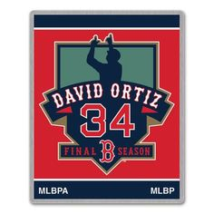 DAVID ORTIZ BOTON RED SOX FINAL SEASON 2016 MLB RETIREMENT WINCRAFT PIN ** Check this awesome product by going to the link at the image.