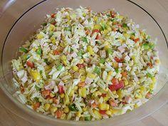 Reisnudel - Salat, ein tolles Rezept aus der Kategorie Eier & Käse. Bewertungen: 8. Durchschnitt: Ø 3,7.