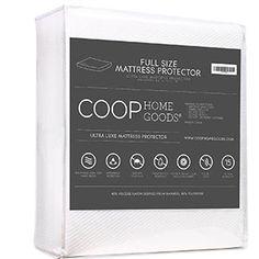 10. Coop Home Goods Ultra Bamboo-derived Viscose Rayon Mattress Pad Protector