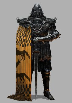 A bit too much fantasy for my taste but the cape and the whole artwork is awesome ArtStation - ASOIAF, Chenthooran Nambiarooran Dark Fantasy, Fantasy Armor, Medieval Fantasy, Armor Concept, Concept Art, Fantasy Inspiration, Character Inspiration, Character Concept, Character Art