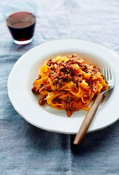This is the real thing. The genuine ragù, as it is made in Bologna, is a mouthwatering meat sauce that includes different types of mince, including pork and beef, slowly cooked in a tomato and vegetable sauce. In Italy, this sauce is only ever served with broad, flat pasta such as tagliatelle or fettuccine and …