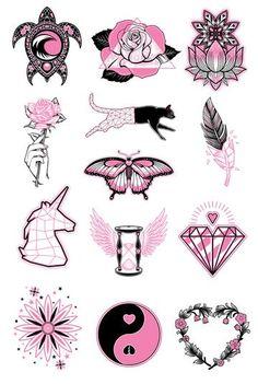 Tattoo P, 12 Tattoos, Doodle Tattoo, Dope Tattoos, Flower Tattoos, Black Tattoos, Hand Tattoos, Small Tattoos, Tribal Rose Tattoos