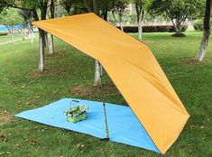 10 x 10 FT Lightweight Tent Tarp Waterproof Hammock Sunshade RainFlyBeach Mat Outdoor Camping Tent For 68 Person Light Blue L -- You can get more details by clicking on the image. (This is an affiliate link) Camping Tarp, Tent Tarp, Outdoor Camping, Tents, Waterproof Tarp, Picnic Mat, Picnic Blanket, Lightweight Tent, Santa Cruz