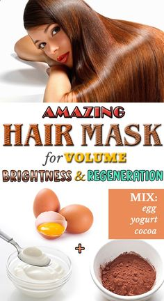 Amazing Hair Mask for Volume Brightness & Regeneration