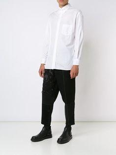 yohji yamamoto men triple collar shirt | Yohji Yamamoto Double Collar Shirt - Farfetch