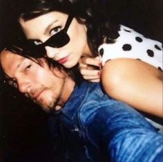 Norman& Lauren. They look so cute together make a perfect couple, Who ? Agreed gave me a massage back