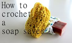 How to make a quick and easy soap saver that is both beautiful and functional. Created with peaches and creme cotton yarn and a G hook. You will also need a ...