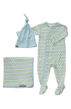 Petunia Pickle Bottom 'Snuggle' Footie, Blanket & Hat Set (Baby) available at #Nordstrom