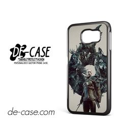 Witcher 3 Wild Hunt Geralt DEAL-11964 Samsung Phonecase Cover For Samsung Galaxy S6 / S6 Edge / S6 Edge Plus