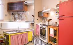 Falando em reoaginar tem também a geladeira... Ficou show !!!!!