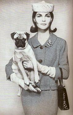 Georgia Hamilton, photo by Richard Avedon, Harper's Bazaar March 1956