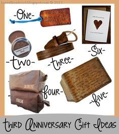 37 Best Three Year Leather Anniversary Gift Images Leather