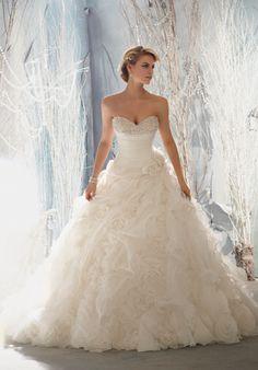 Mori Lee By Madeline Gardner Wedding Dresses - The Knot #wedding #dress #gown #bride #bridal