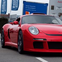 "@exotic_performance's photo: ""Red RUF CTR3 