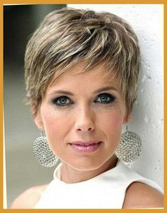 hairstyles for short hair for over 50's - Google Search