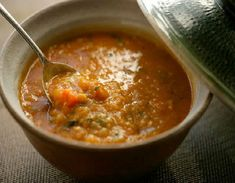 One Perfect Bite: Red Lentil Soup