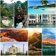 Dream trips and Vacation