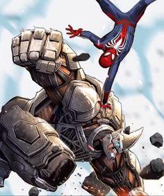 Werble animation by Mothpete Miles Spiderman, Black Spiderman, Spiderman Spider, Amazing Spiderman, Rhino Spiderman, Marvel Films, Marvel Dc Comics, Marvel Heroes, Marvel Characters