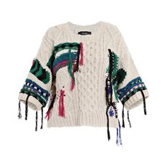 ISABEL MARANT Lucy aran sweater found on Polyvore