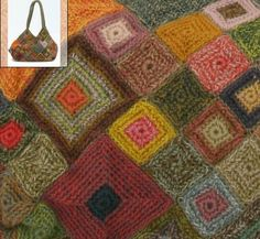 Sophie Digard crochet bag - zoom view