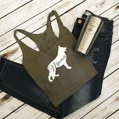 85c079071 Mama German Shepherd T-Shirt/Tank Top - Sierra Metal Design Personalized  Gifts &