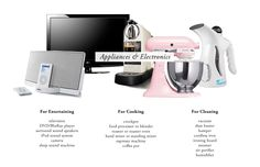 The Everygirl's Wedding Registry Guide // Appliances & Electronics
