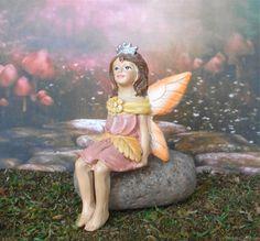 Mini Princess Fairy - Peach – Enchanted Gardens