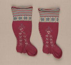 Pair of children's stockings | Museum of Fine Arts, Boston