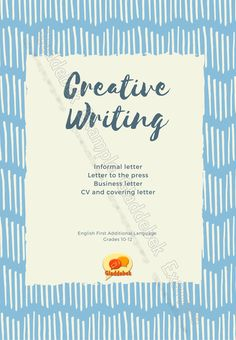 Creative Writing: Letters by Gladdebek