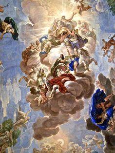Greek Gods Painting