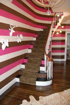 contemporary staircase by Favreau Design
