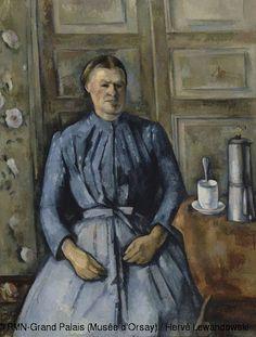 La mujer con la cafetera.1895. Museo de Orsay,Paris.